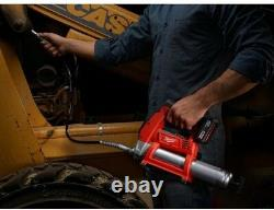 Electric Air Grease Gun Cordless Battery Charger Bleeder Valve Milwaukee M12