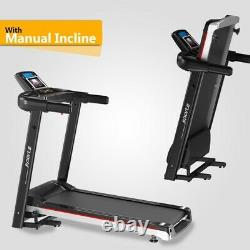 Electric Folding Treadmill 2HP Motor Heavy Duty Running Machine For Home Gym