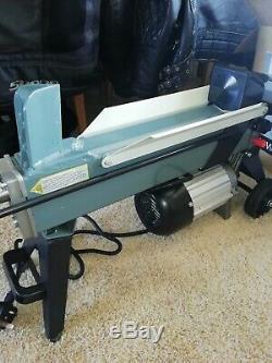Electric Hydraulic Log Splitter Heavy Duty Wood Timber Cutter