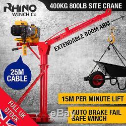 Electric Jib Crane 400Kg / 882lb Lifting Hoist, 240V Heavy Duty Rhino