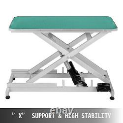 Electric Lifting Pet Dog Grooming Table 440Lbs Drying Wear resistant Metal