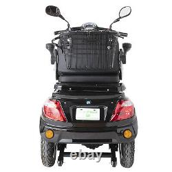 Electric Mobility Scooter 3 Wheeled 800W REMOVABLE LITHIUM BATTERY LED Display