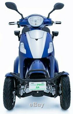 Electric Mobility Scooter 4 Wheeled 60V100AH 500W FREE DELIVERY Green Power