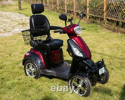 Electric Mobility Scooter 60V100AH 600W CAPTAIN SEAT FREE ENGINEERED DELIVERY