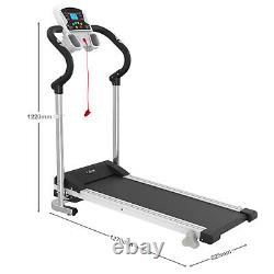 Electric Motorised Folding Treadmill Incline Heavy Duty Running Machine withLCD UK