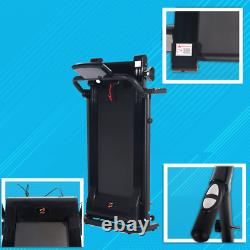 Electric Motorized Treadmill Folding Indoor Running Machine Heavy Duty 1.5 HP