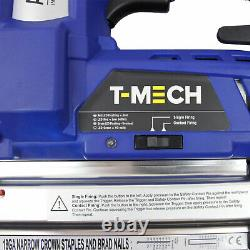 Electric Nail and Staple Gun 2 in 1 Cordless Tacker Extra Battery Heavy Duty