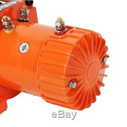 Electric Recovery Winch 12V 13500lb 6123kg Heavy Duty 4x4 Car 2Wireless Remotes