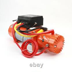 Electric Recovery Winch /12v 13500lb Heavy Duty Steel Cable, 4x4 Car -WINFULL