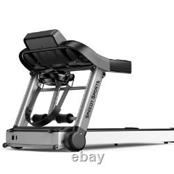Electric Treadmill Multi Function 1.5 HP Heavy Duty Machine with Massage Belt