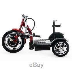 Electric Tricycle Scooter 3 Wheeler Mobility Scooter Trike VELECO ZT16