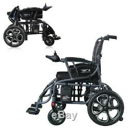 Electric Wheelchair Foldable Heavy Duty Lightweight Mobility Folding Power Chair