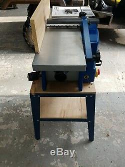 Electric Wood Planer, Thicknesser, Bench Top, Heavy Duty Woodwork 230V DIY