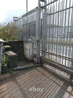 Electric sliding gate, 15 metres opening, commercial, industrial