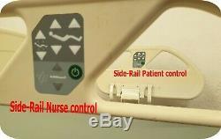 Eleganza De-luxe Electric Profiling Hospital Bed, Height Adjustable. Tilt