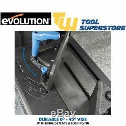 Evolution SC355CPS EVO355 Steel Cut Off Saw TCT Heavy Duty EVOSAW 240V 355mm