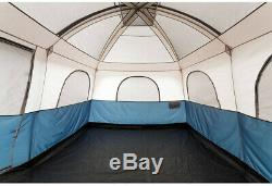 Family 14 X 10 Cabin Tent 10-Person With Carrying Bag & Electrical Cord Access
