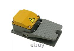 Foot Switch Industrial Switch Pedal Heavy Duty 15A SPDT ALUMINUM L1