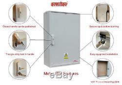 GRP Electric Enclosure, Kiosk, Cabinet, Meter Box, Housing (W660 x H600 x D245)mm