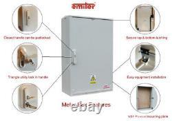 GRP Electric Enclosure, Kiosk, GRP Cabinet, Meter Box, Housing W530xH800xD320mm