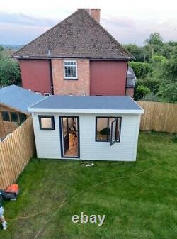 Garden Office / garden shed / Man cave / Gym Fully Insulated And Electrics