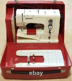 Great Condition Bernina 830 Record heavy Duty Sewing Machine With Accessories
