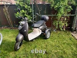 GreenPower Electric Mobility Scooter Black 60V 500W 100Ah Harly Davidson style
