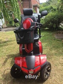 HARDLY USEDDrive VIPER 8mph Road Legal Electric Mobility ScooterINC BATT