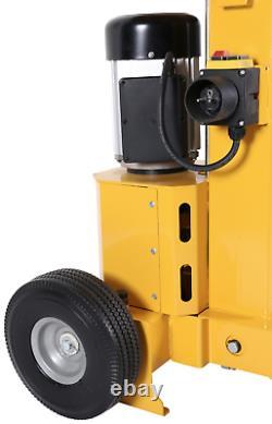 HEAVY DUTY HYDRAULIC 8 TON ELECTRIC LOG SPLITTER VERTICAL 3000watt MOTOR