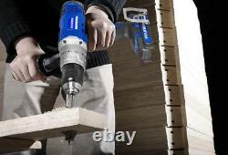 HYUNDAI Cordless Drill Driver 18V Combi Hammer Electric Screwdriver Lithium Ion