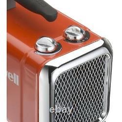 HZ-510E Honeywell Heavy Duty Fan Heater Red Ceramic 1500W 3 Year Warrany