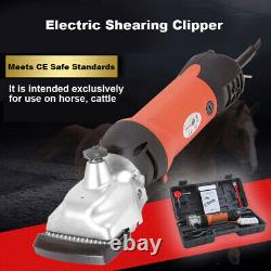 Heavy Duty 350W Electric Horse Hair Clipper Farm Animal Shearing Trimmer UK