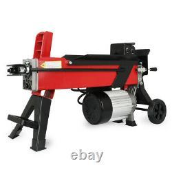 Heavy Duty 7 Ton Hydraulic Log Splitter Electric Wood Timber Cutter Hand Tool