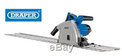 Heavy Duty Draper 1200w 165mm Plunge Track Saw Circular Saw Warranty New