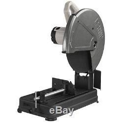Heavy Duty Electric Cut Off Chop Saw Metal Cutting Steel Base 4 HP 14 Inch