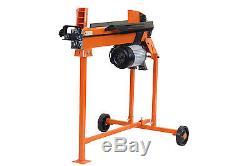 Heavy Duty Electric Hydraulic Log Splitter & Bulk Saw Horse Multi Holder Set