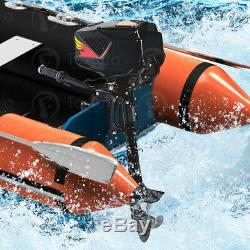 Heavy Duty Electric Outboard Motor Boat Engine Fish Propeller 1200With1000With800W