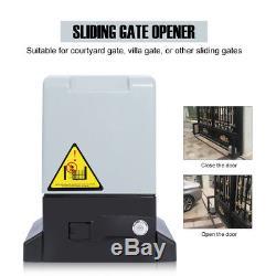 Heavy Duty Electric Remote Control Sliding Gate Motor Slide Auto Opener 600kg UK