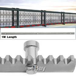 Heavy Duty Electric Sliding Gate Opener Automatic Motor Remote Control 1M Rail