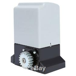 Heavy Duty Electric Sliding Gate Opener Automatic Motor Remote Control 750W