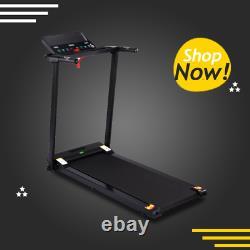 Heavy Duty Electric Treadmill Motorised 1.5HP DC Motor Folding Running Machine