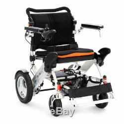 Heavy Duty Foldalite Trekker Electric Folding Wheelchair With Lithium Batteries