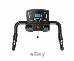 Heavy Duty Folding Electric Motorised Treadmill Running Machine Cardio Jogging