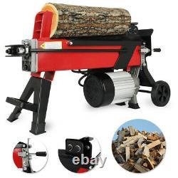 Heavy Duty Hydraulic 7 Ton Log Splitter Electric Wood Timber Cutter Hand Tool