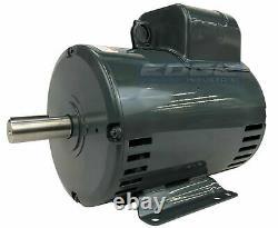 Heavy Duty Leeson Compressor Duty Electric Motor 5hp 1phase 230v 184t