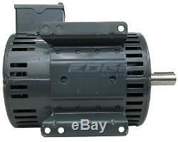 Heavy Duty Leeson Compressor Duty Electric Motor 5hp 1phase 230v 184t