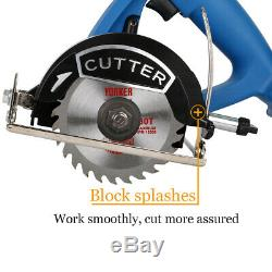Heavy Duty MINI Lithium Electric Compact Circular Saw Cordless Power Cutter Tool