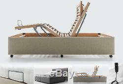 Heavy Duty Mobility Electric Adjustable Beds Memory Foam Mattress Headboards