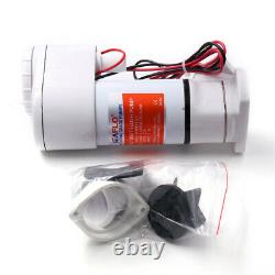 Heavy Duty Plastic Manual to Electric Marine Toilet Conversion Adapter Kit