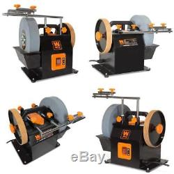 Heavy Duty Water Cooled Electric Tools Sharpening Stone System Wet Dry Sharpener